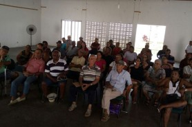 Reunião com aposentados na subsede de Catu 26/01/2017