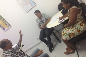 Reunião Cesat acidente de Miranga