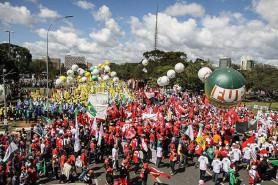 Manifestação ocupa Brasília (24/5)